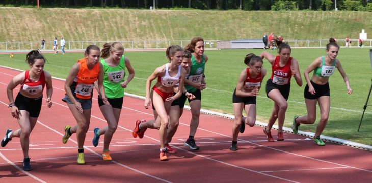 Vanessa Wyryma gewinnt über 800 Meter