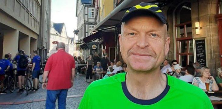 Nachtmarathon in Marburg mit Alfred Jilg