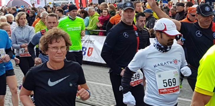 Regina Nocke startet beim Marathon in Bremen