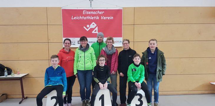 Winterlaufserie Creuzburg mit heimischen Startern