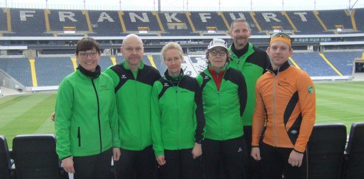 18. Halbmarathonauftakt in Frankfurt